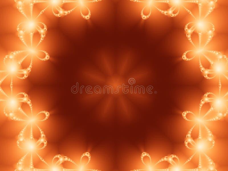 fractal φωτοστέφανος ελεύθερη απεικόνιση δικαιώματος