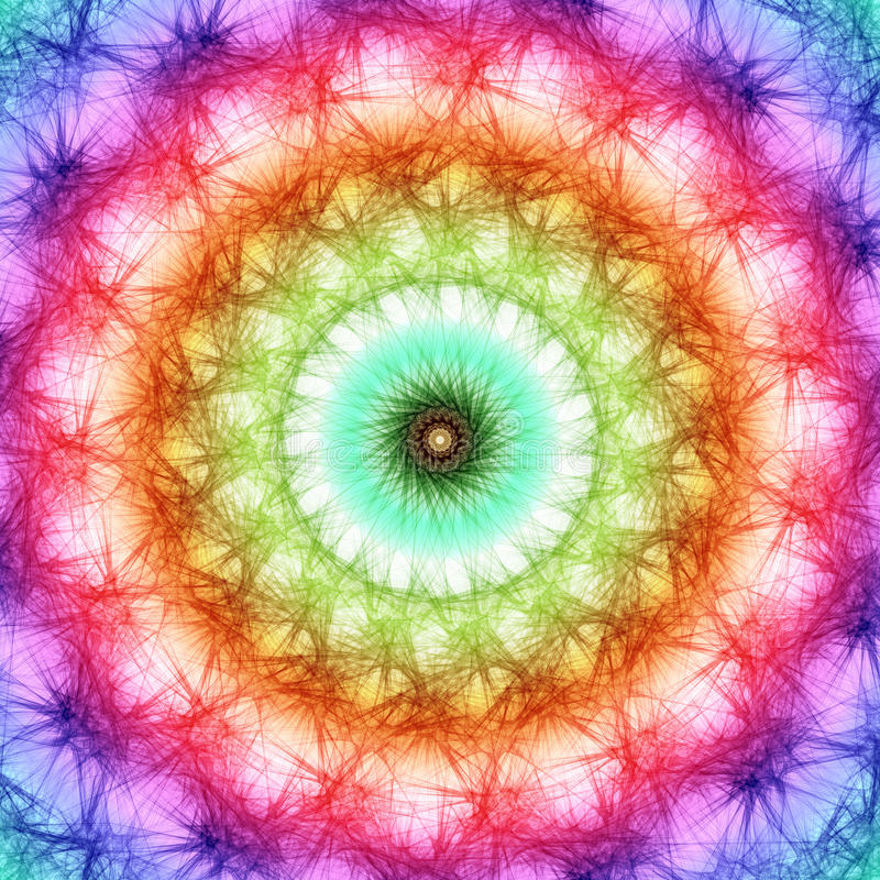 fractal χρωμάτων ανασκόπησης ου&r απεικόνιση αποθεμάτων