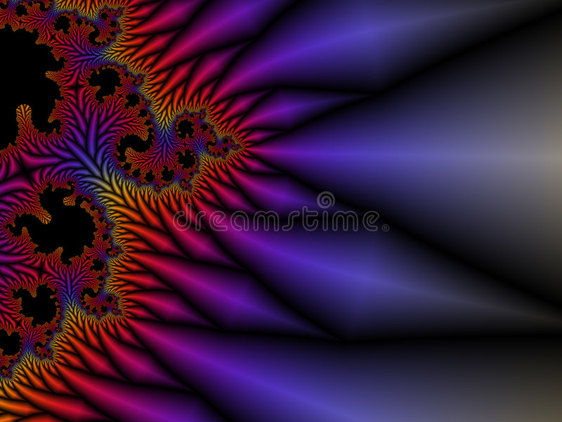 Fractal 01 vector illustratie