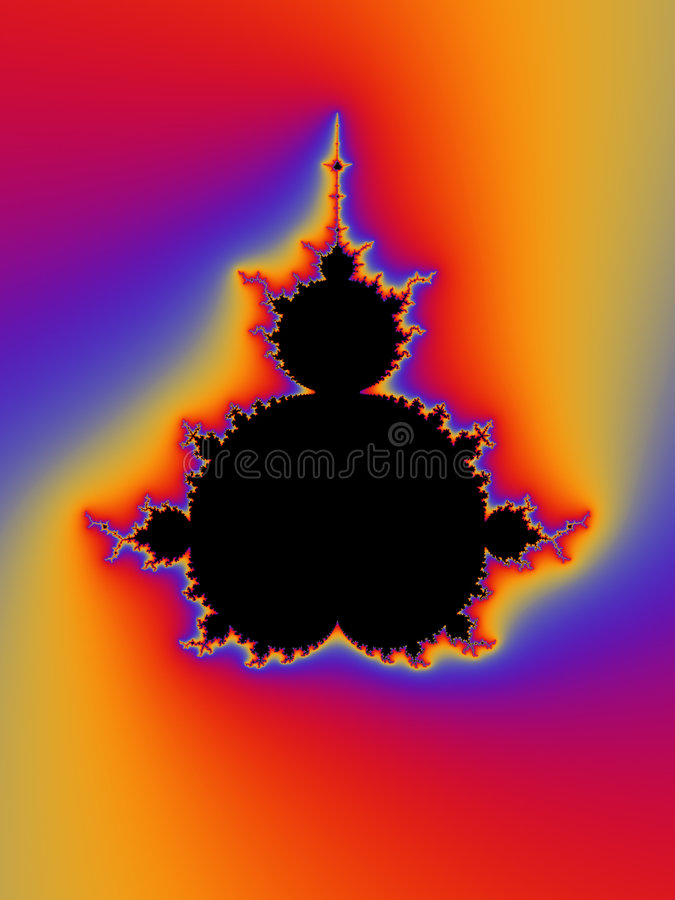 Fractal stock illustratie