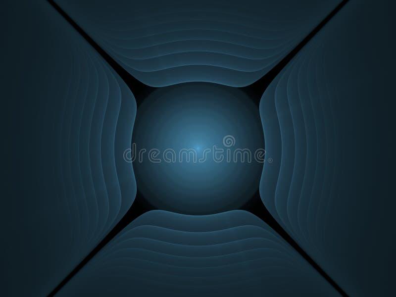 fractal royaltyfri bild