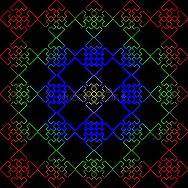 fractal royaltyfria bilder