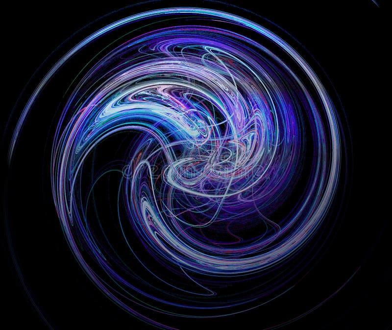 Download Fractal #9 stock image. Image of twist, blue, symmetry - 800457