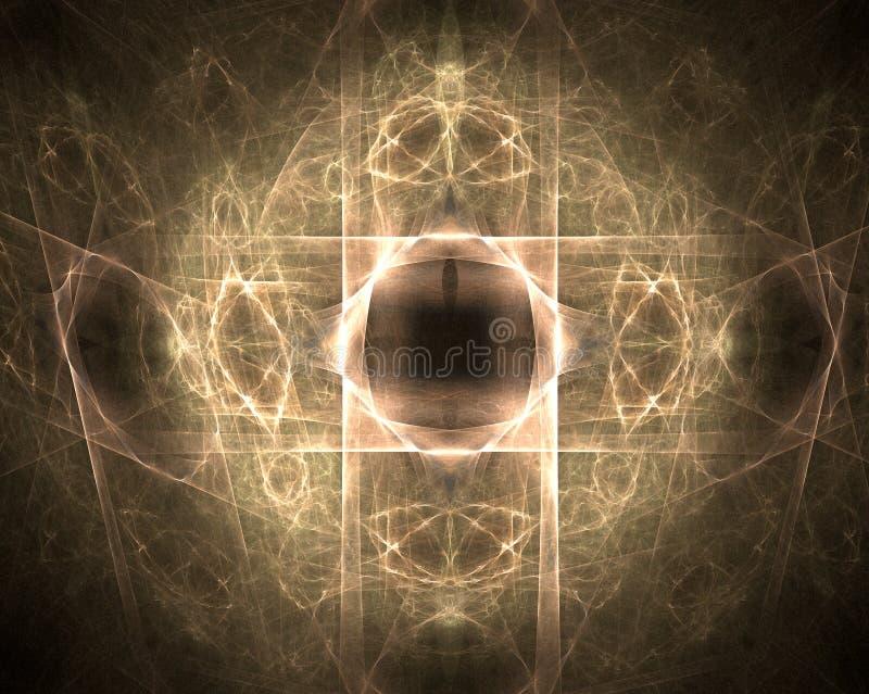 Download Fractal abstract stock illustration. Image of digital - 1411305