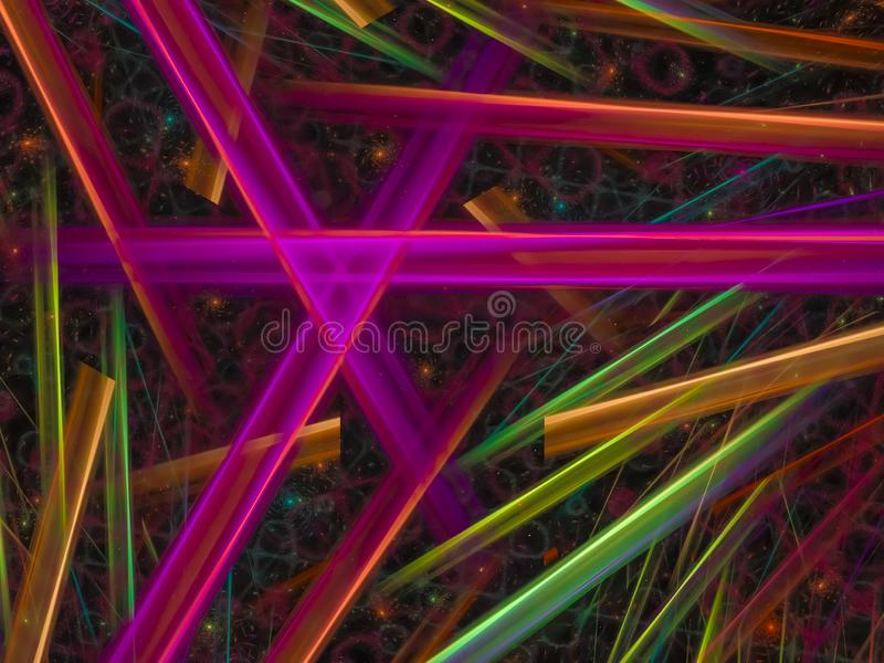 Fractal disco, fantastic chaos template modern power card future creative idea rendering mystery background, design magic. Fractal abstract, background design royalty free stock image