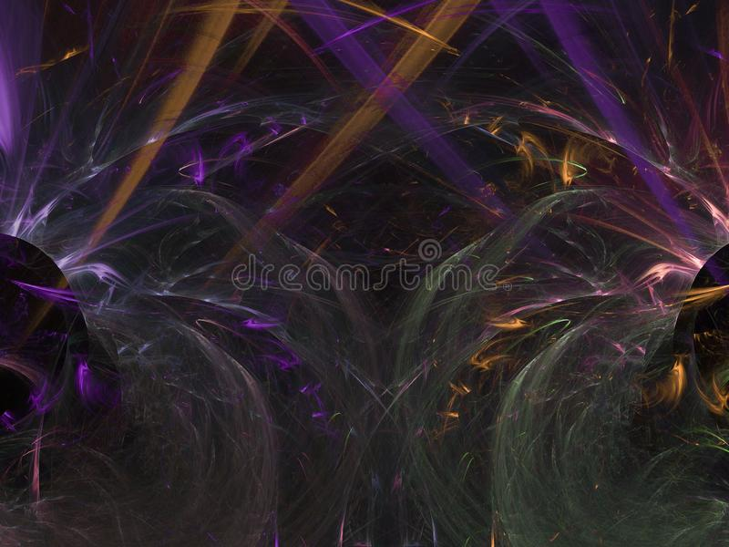 Fractal abstract background pattern elegant power rendering sparkle effect surreal shape dynamic decoration magic. Fractal abstract background magic shape energy stock photo