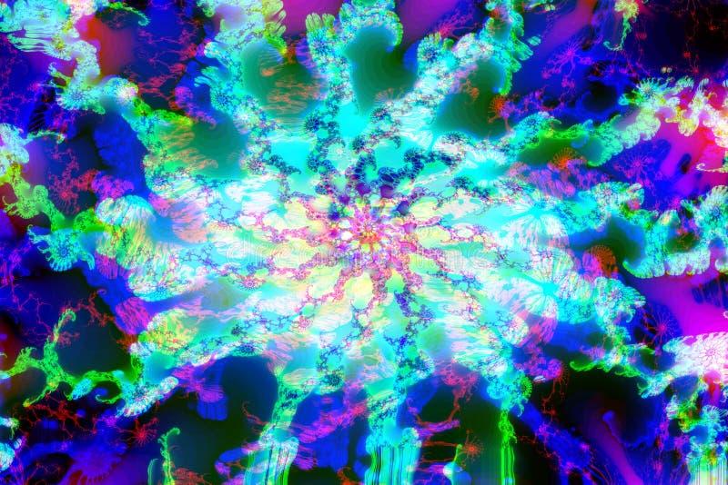 Fractal abstracto multicolor fotos de archivo libres de regalías