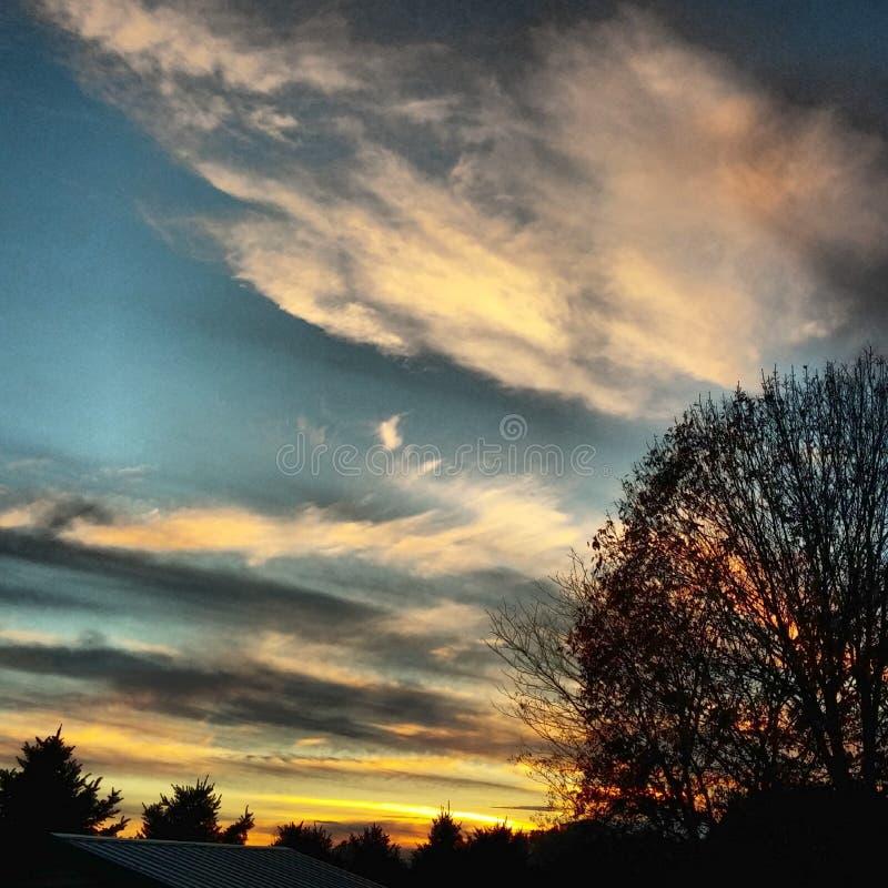 fractal abstrakcyjna obraz nieba zima fotografia stock