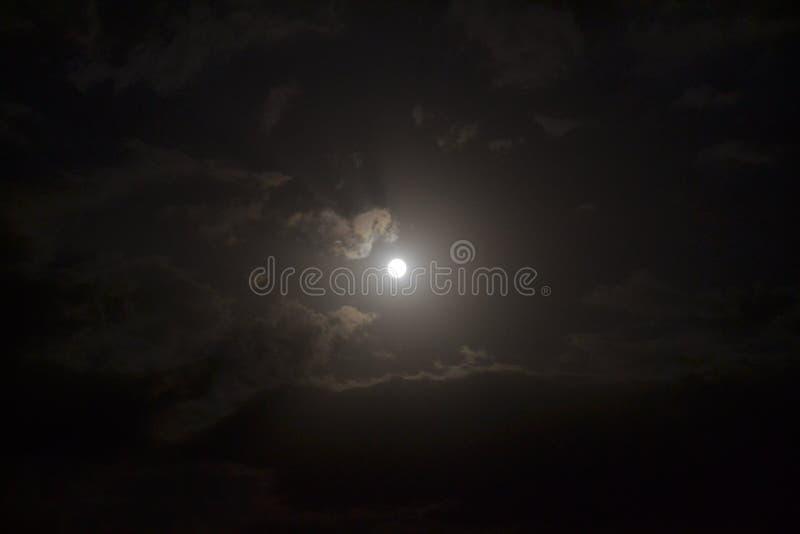 fractal abstrakcyjna podobieństwo blasku księżyca tej nocy zdjęcia royalty free