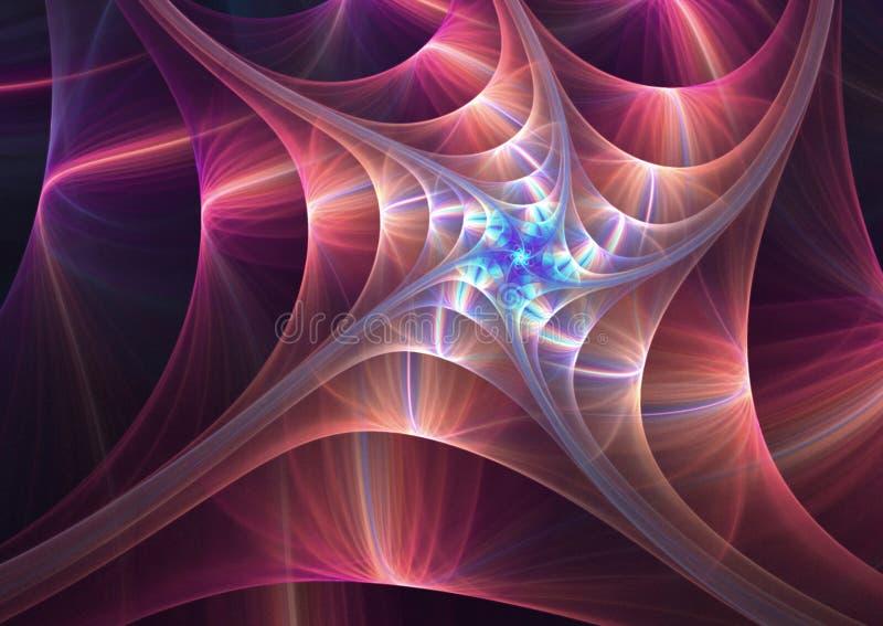 fractal abstrakcyjne ilustracja wektor