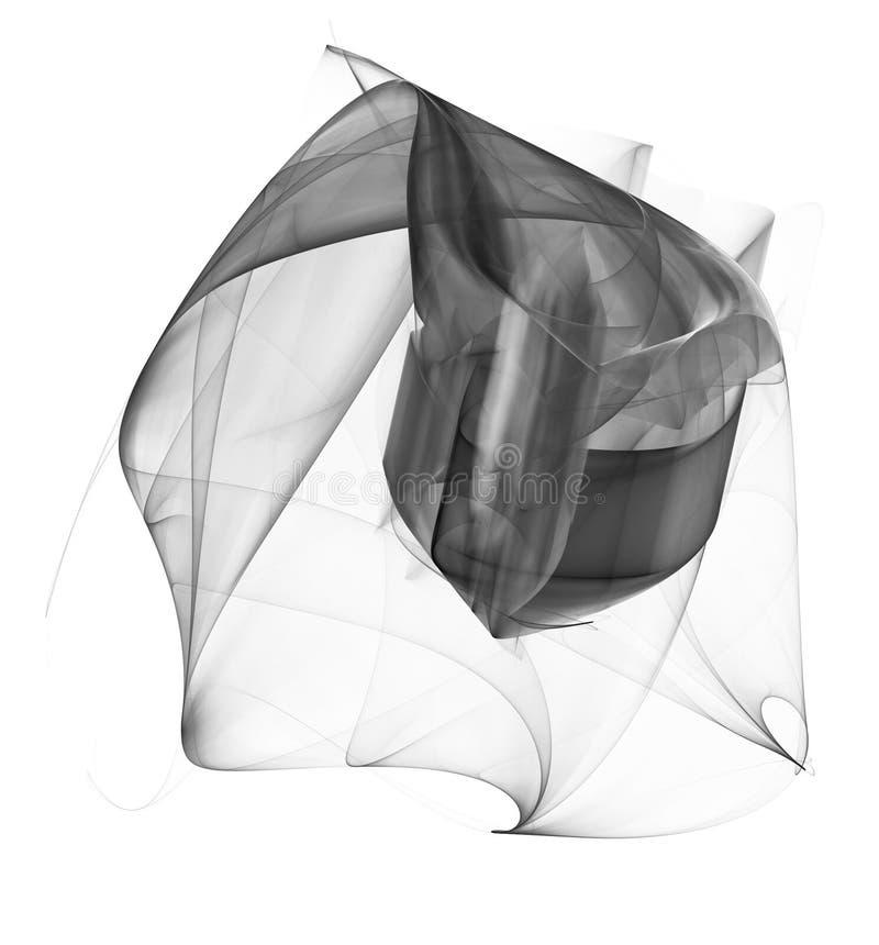 Fractal abstrato ilustração stock