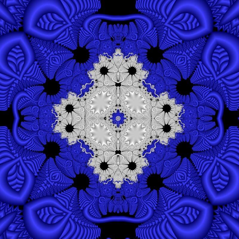 Fractal abstrato ilustração royalty free