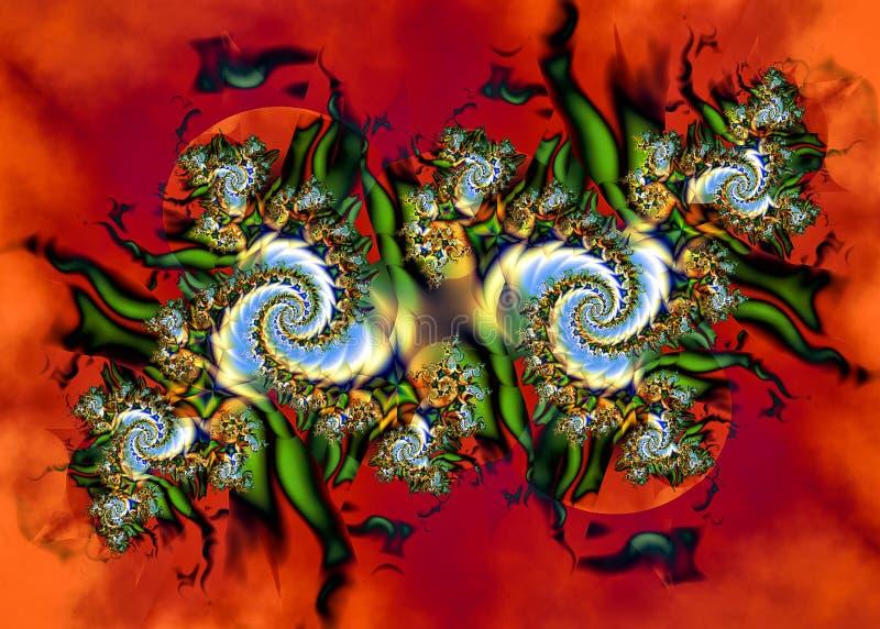 Fractal artístico VII foto de archivo libre de regalías