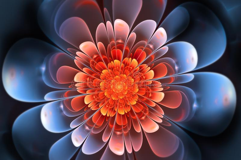 Fractal art illustration. Stylish background and wallpaper. Beautiful fractal art illustration. Stylish background and wallpaper. Colorful shiny pattern vector illustration