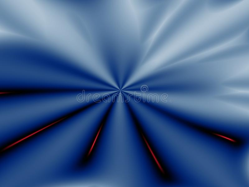 Fractal background. Abstract colored futuristic fractal for background stock illustration