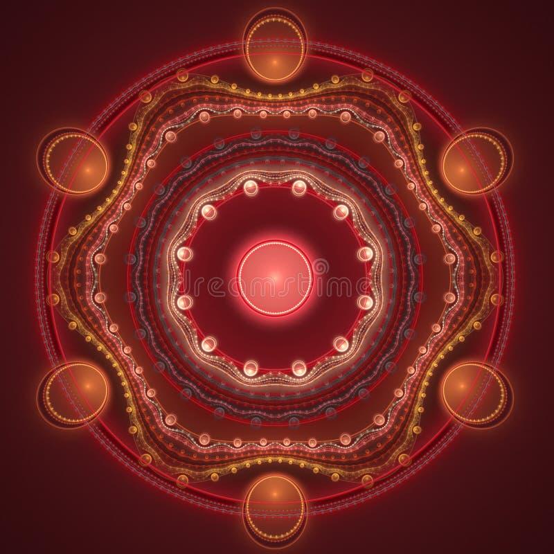 Download Fractal background stock illustration. Image of effect - 27739478