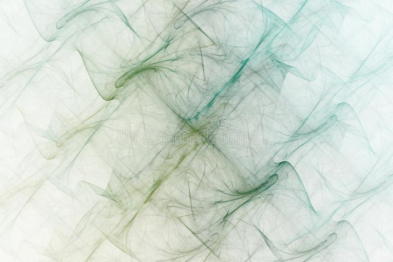 Fractal bewegt Fantasie wellenartig vektor abbildung