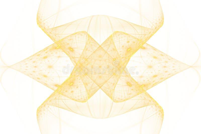 Fractal bewegt Fantasie wellenartig stock abbildung