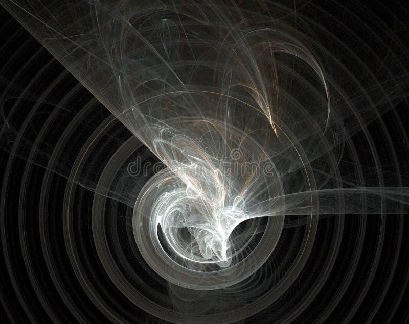 Fractal, caos do centro. ilustração do vetor