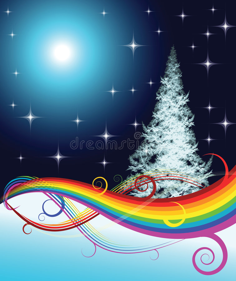 Download Fractal Christmas tree stock vector. Illustration of holiday - 3155506