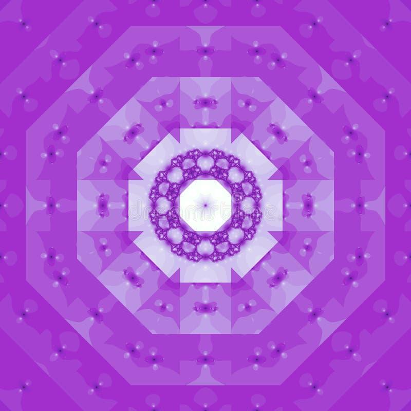 Fractal colorido dos formulários das luzes ilustração royalty free