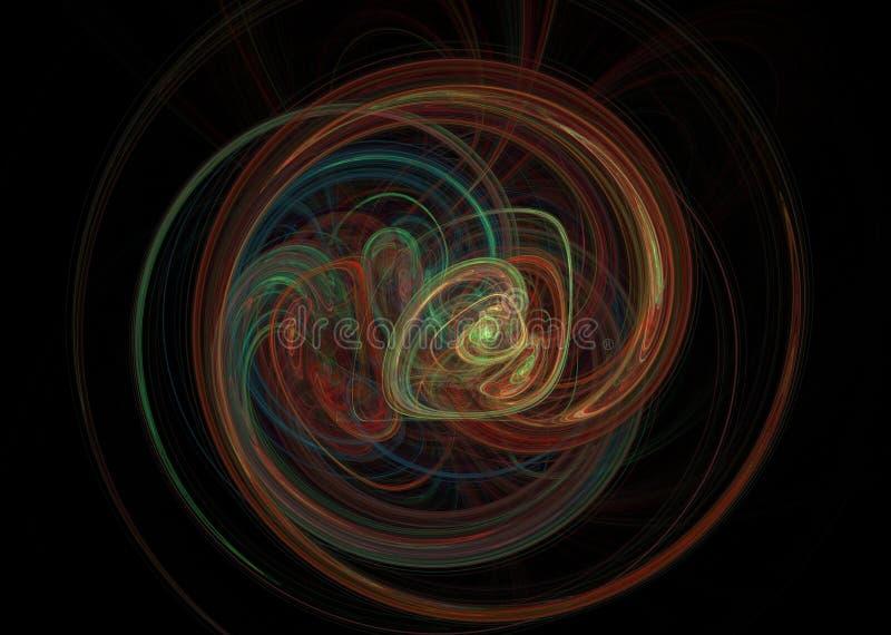 fractal Elemento abstracto del fondo fotografía de archivo libre de regalías