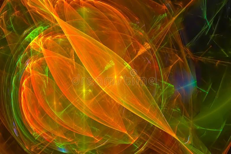 Fractal fantasy dynamic chaos sparkle style texture design splash shape wave background element creative future. Fractal fantasy design background , creative stock illustration