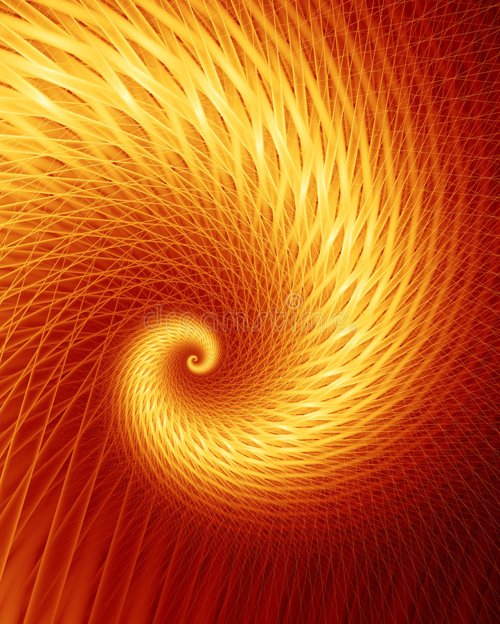 Free Fractal Frenzy - Hot Royalty Free Stock Photography - 96177