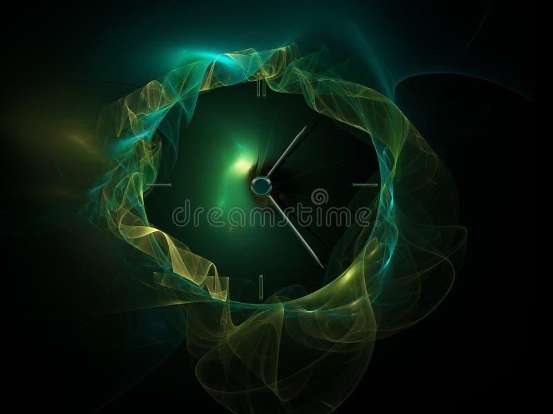 fractal godziny royalty ilustracja