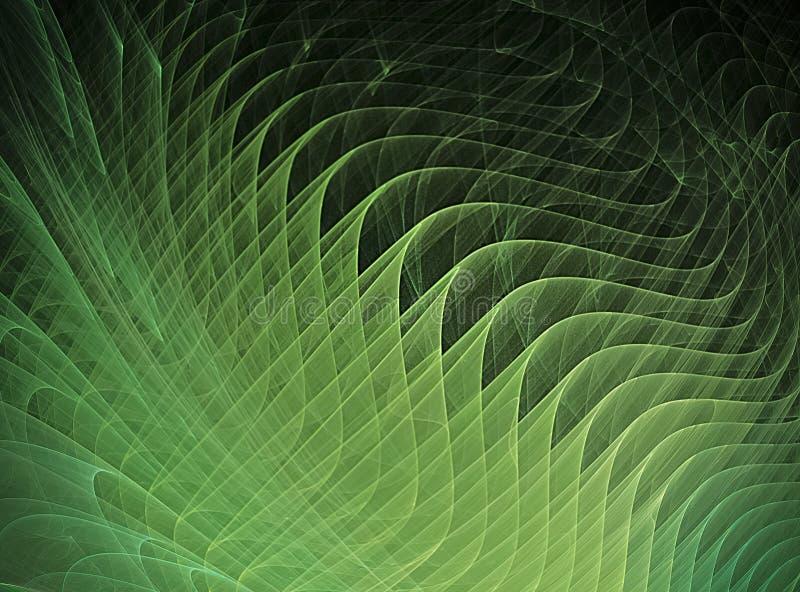 Fractal kunstachtergrond voor creatief ontwerp stock illustratie