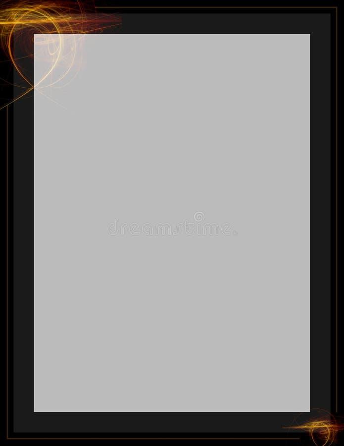 Download Fractal Letter stock illustration. Image of illustration - 3896589