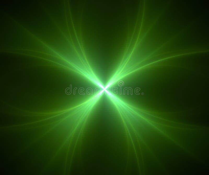 Fractal mit Stern; abstrakte Auslegung, Hintergrund lizenzfreie abbildung