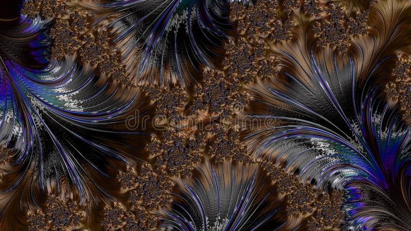 Abstract Computer generated Fractal design. Fractal a never-ending pattern. Abstract Computer generated Fractal design. Fractals are infinitely complex patterns royalty free stock photos