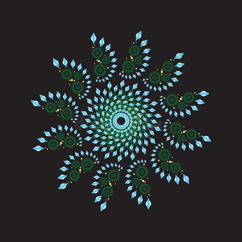Fractal ornamental circular libre illustration
