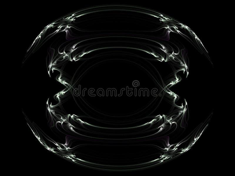 fractal plemienny ilustracja wektor