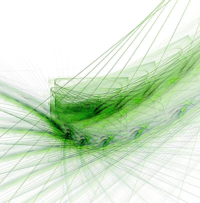 Fractal samenvatting vector illustratie