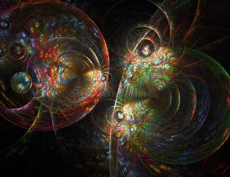 fractal spoważnienie ilustracji