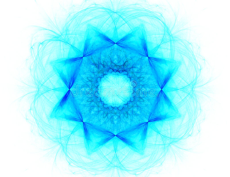 Download Fractal With Star; Abstract Design, Background Royalty Free Stock Photography - Image: 2114887