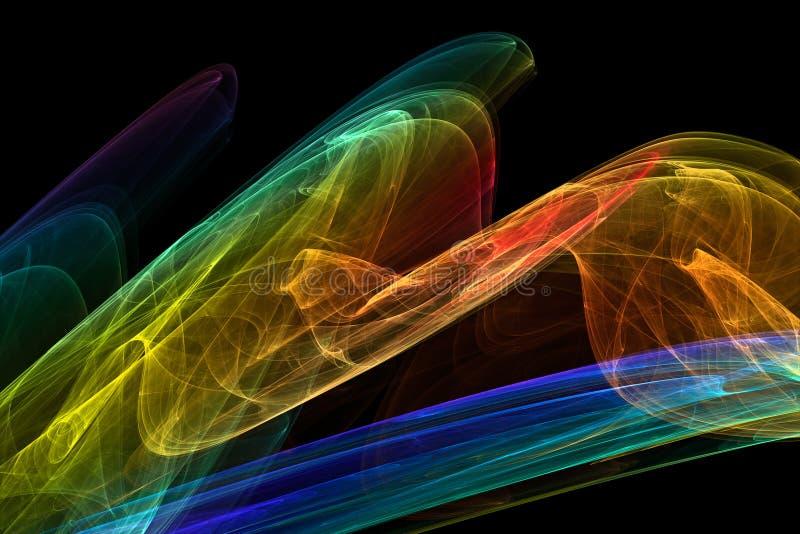 fractal tła ilustracji