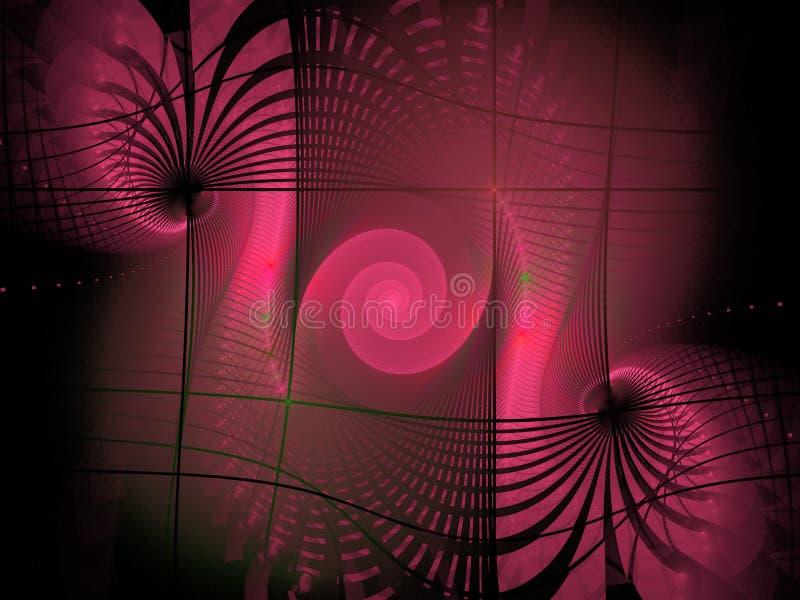 fractal tła ilustracja wektor