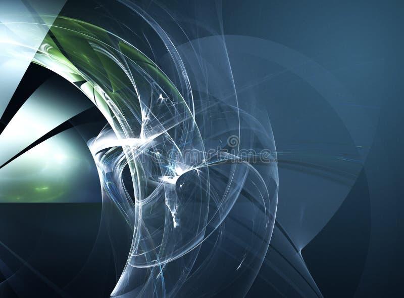 fractal techno royalty ilustracja