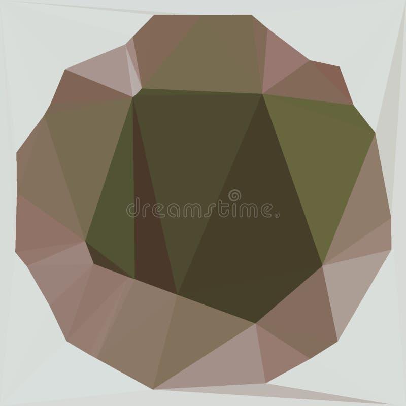 Fractal van schildpadsmaragden patroon 3 royalty-vrije stock foto
