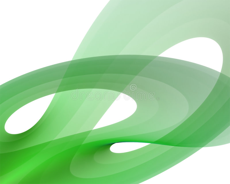 Fractal waves background vector illustration