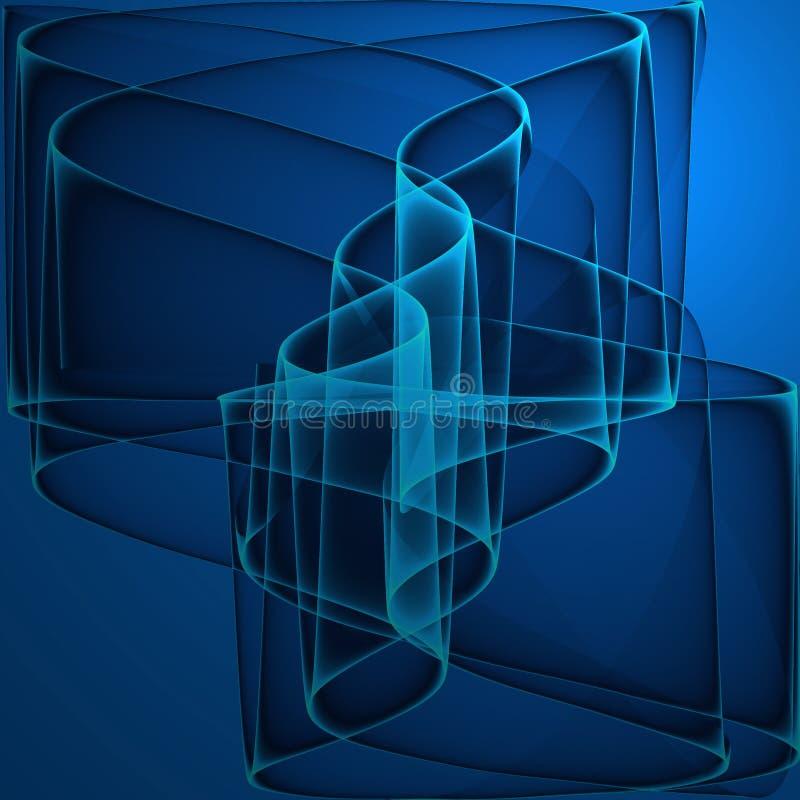 Fractale abstraite illustration de vecteur
