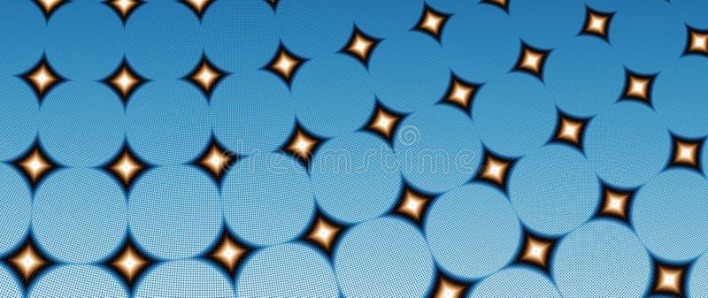 Fractale d'étoile illustration de vecteur