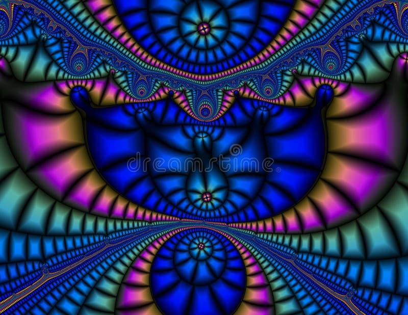 Fractale vibrante photos stock