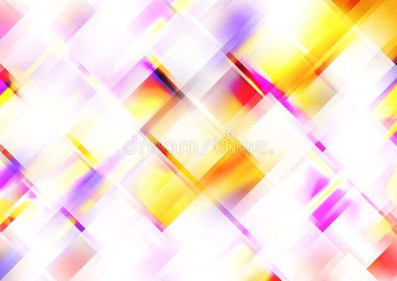 Fractales abstraites lumineuses de prisme illustration libre de droits