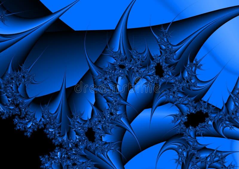 Download Fractalhintergrund stock abbildung. Illustration von chaos - 26353