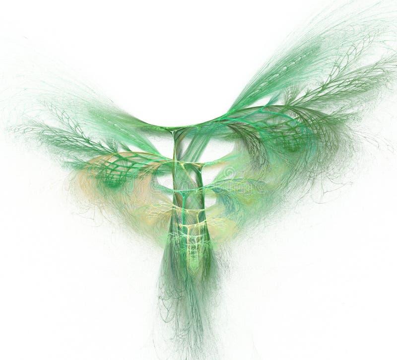 Fractalillustration des fantastischen Baums vektor abbildung