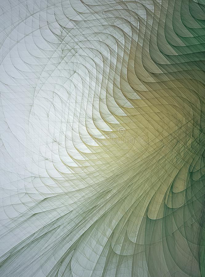 Fractalkonstbakgrund för idérik design arkivbilder